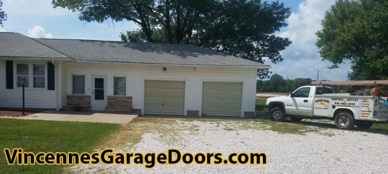 Garage Door Installation Before