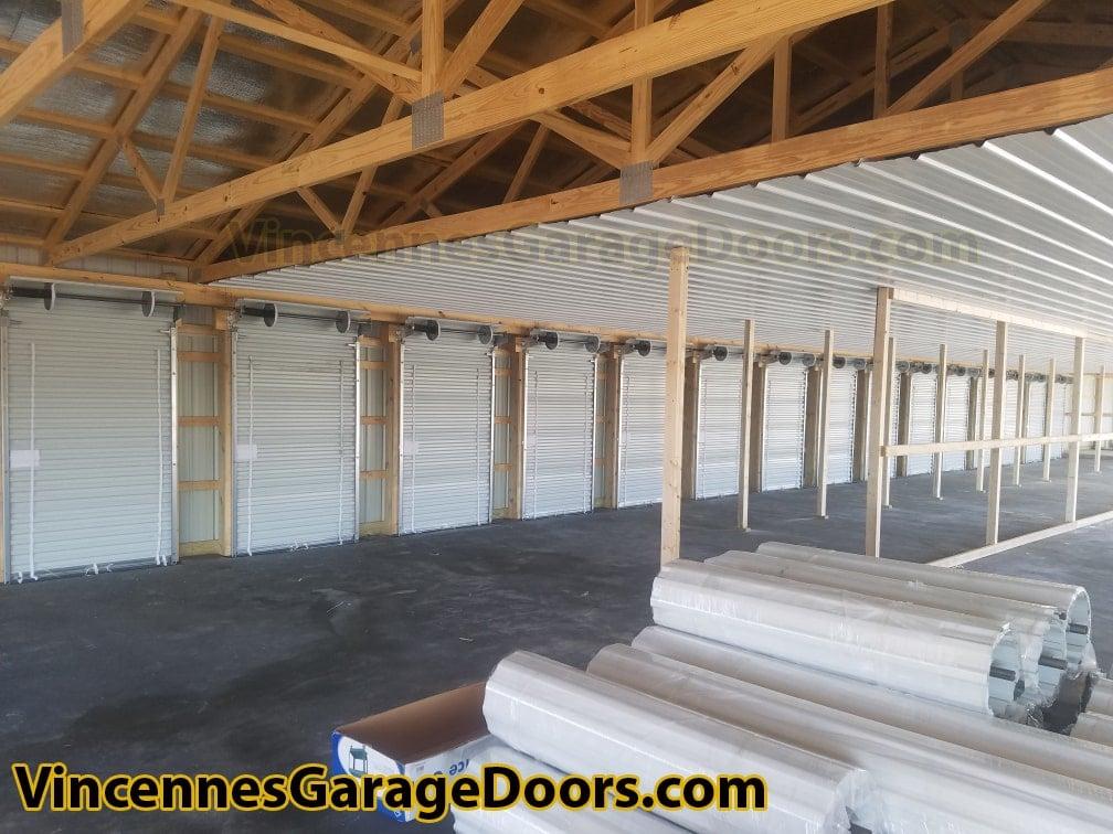 Mini Storage Rollup Barrel Doors